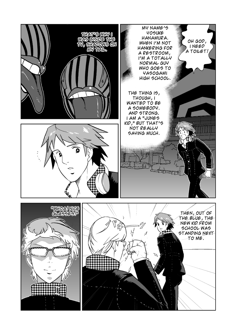 I'm sure this will be just as cherished as my work translating actual Persona 4 manga back in the day.