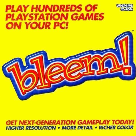 The front cover of Bleem's PC Emulator