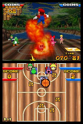 In Mario sports, use of fire is a-okay.