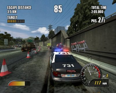 Police in Pursuit.