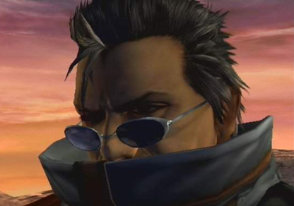 Auron, silent as usual.