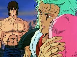 Kenshiro Reveals his Scars