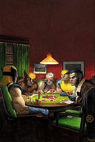 """Inspired by C.M. Coolidge's """"Dogs Playing Poker"""""""