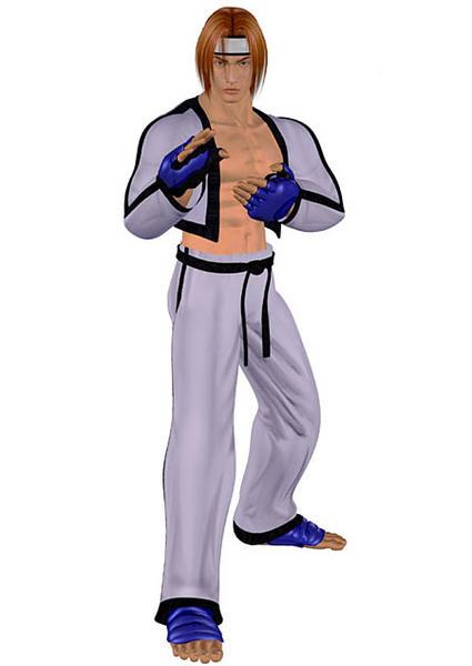 Hwoarang as he appears in Tekken 3.