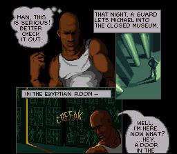 Michael Jordan, the game's protagonist.