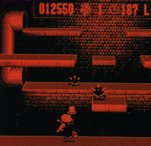 Mario throwing objects indoors. For shame.