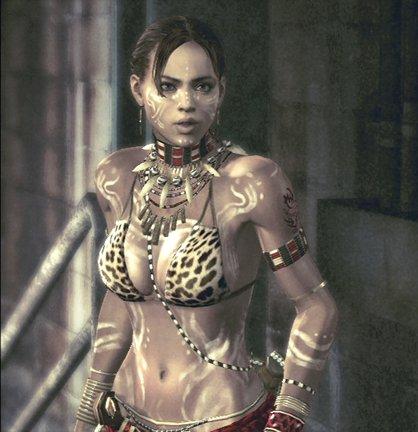Sheva's Tribal costume.