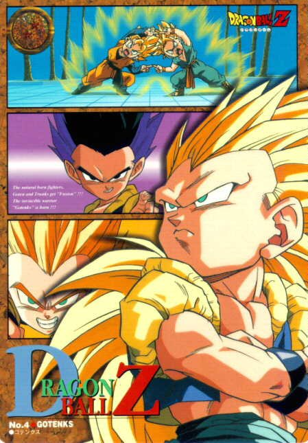 Gotenks in his different forms