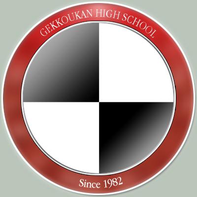 The Gekkoukan High School symbol.