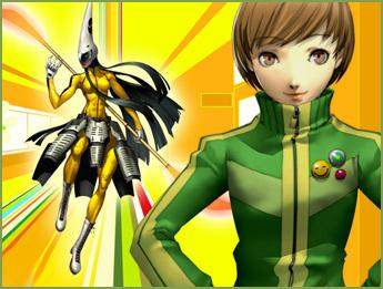 The character designs of Chie's Personas are highly referential to Kung-Fu legend Bruce Lee.