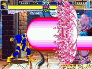 Children of the Atom is the first Marvel based fighting game developed by Capcom.