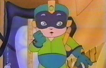 Mega Man from the Captain N show.