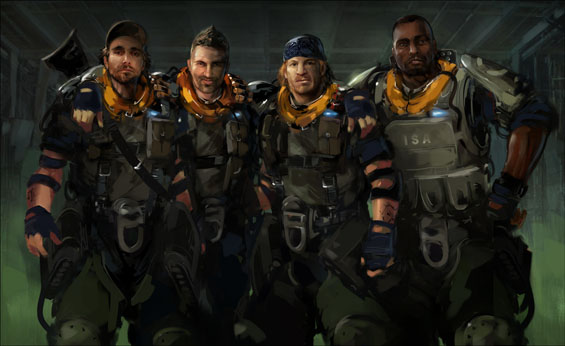 Alpha Team: Dante Garza,