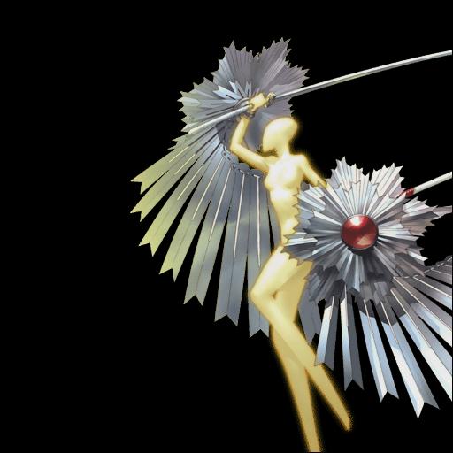 Amaterasu in Persona 4.