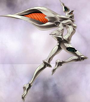 Chiaki as the Baal Avatar.