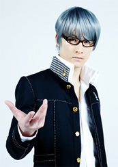 Toru Baba as the protagonist in Visualive Persona 4.