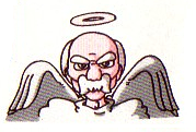 Zeus's design in the Kid Icarus series.