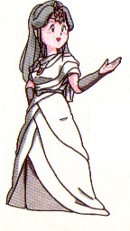 Palutena's Of Myths and Monsters design.