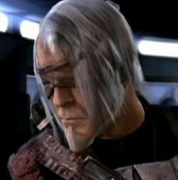 Kota is left blinded and powerless after his duel with Starkiller