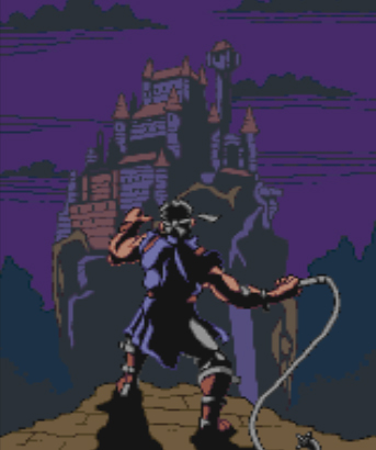 Richter Belmont, the game's main protagonist