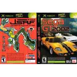 The bundled version featuring both Sega GT 2002 and JSRF.