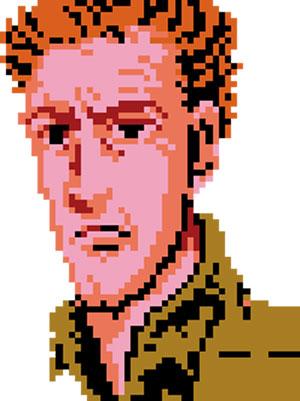 Super Joe, as seen in Bionic Commando (NES)