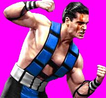 Sub-Zero Unmasked in Mortal Kombat 3