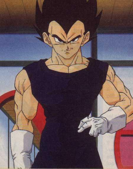 Vegeta's ultimate goal is to surpass Goku in power