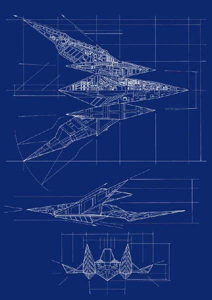 Arwing MK-1 Schematic