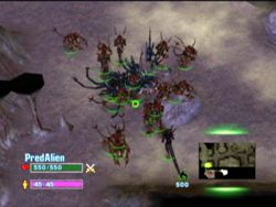 Extinction switched formats to the real time strategy genre.
