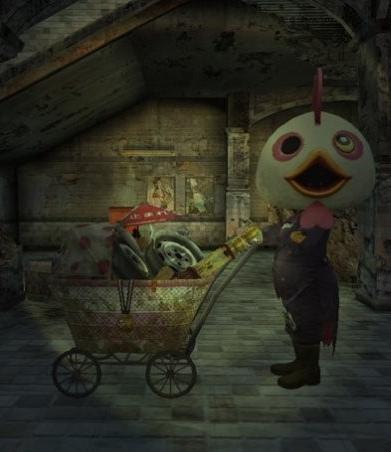 Pictured: the Item Merchant.