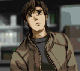 The unnamed protagonist is seen at the end of the game.