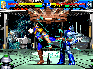Avengers in Galactic Storm is the only game that focuses on the Avengers.