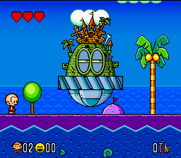The second Bonk game to be released on the SNES.