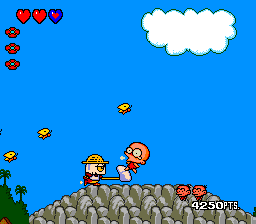 Bonk's Revenge added much more colorful graphics.