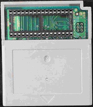 A programmable Game Boy cartridge.