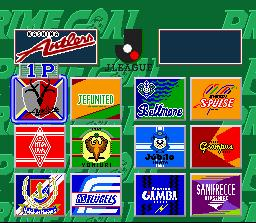 The game's twelve teams.