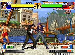 The original King of Fighters '98.