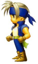 Locke as he appears in Final Fantasy VI Advance.