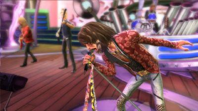 Guitar Hero: Aerosmith allowed players to play as legendary rock group Aerosmith.