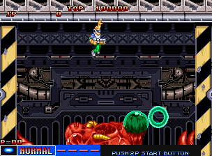 Many of the bosses are very similar to Contra bosses.
