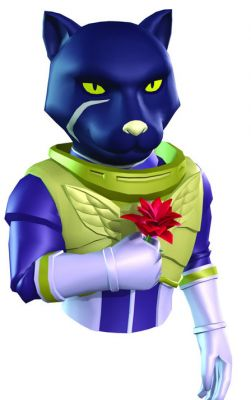 Panther's appearance in Star Fox Command.