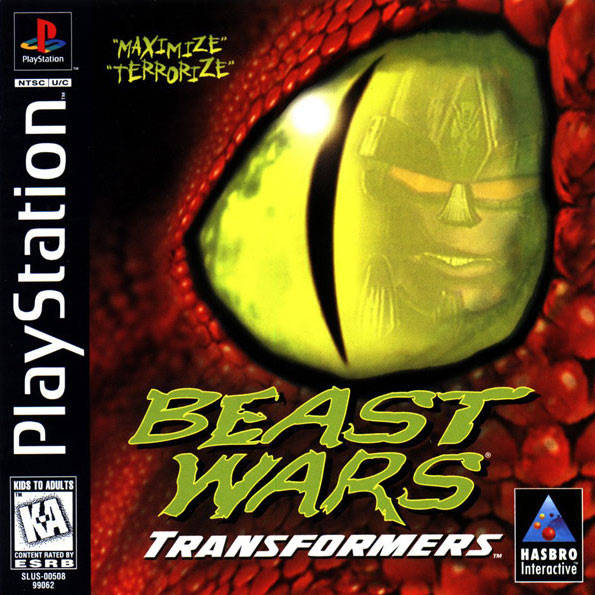 There were a few Beast Wars licensed games, including this one on PSOne