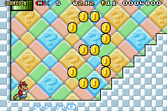 Super Mario Advance 4 improved on the graphics of the original game.