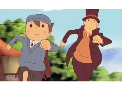 Luke and Layton on the move.