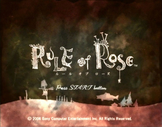 Rule of Rose title screen