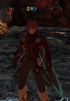 Xeno, a Hunter AI partner.