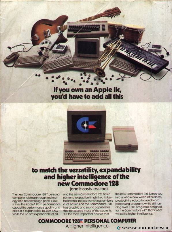 A Marketing Poster Directed at the Apple II