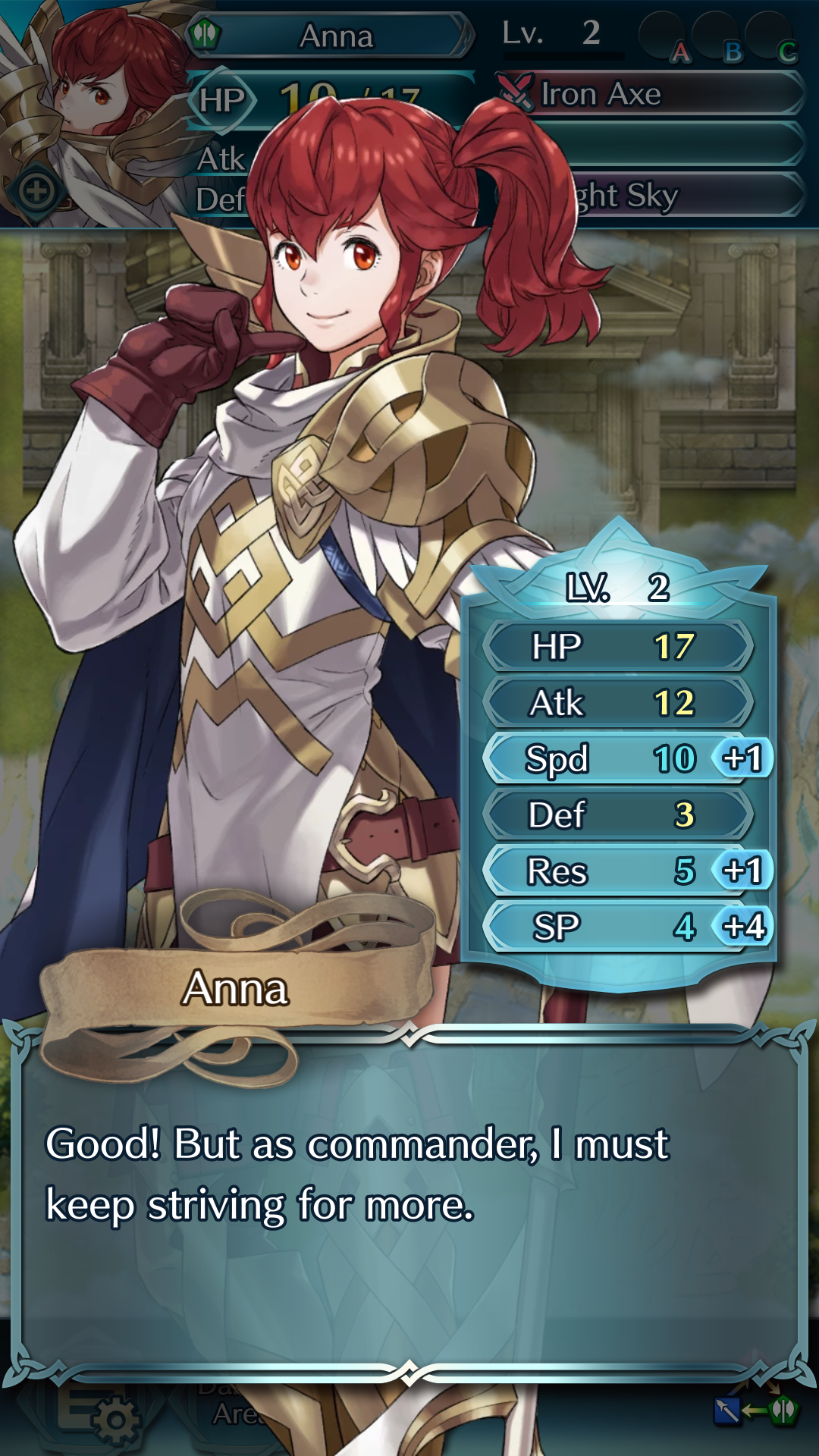 So what you are saying is Fire Emblem fans should strive for more?