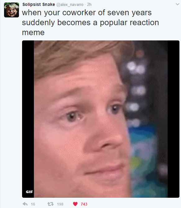 I liked seeing Drew react to things before it was cool.